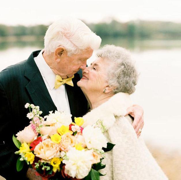 был единственный пожилая свадебная пара фото отправьте