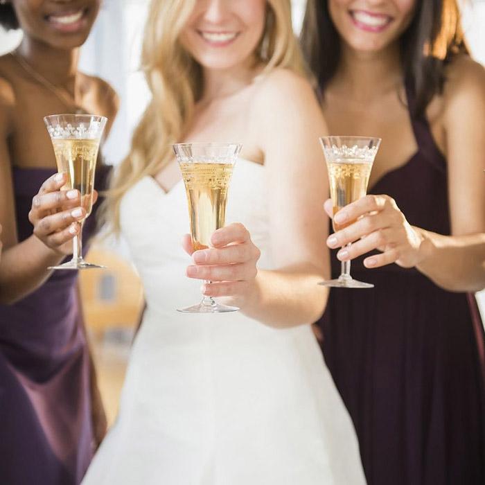 Тост при поздравлении на свадьбе