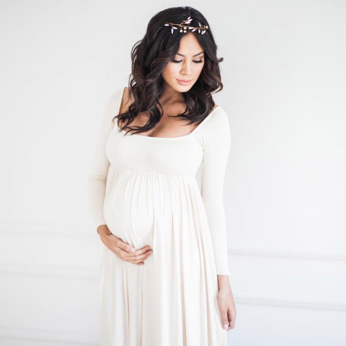 51bdd92b1b4ffe Варіанти сукні для вагітних на весілля - Hot Wedding