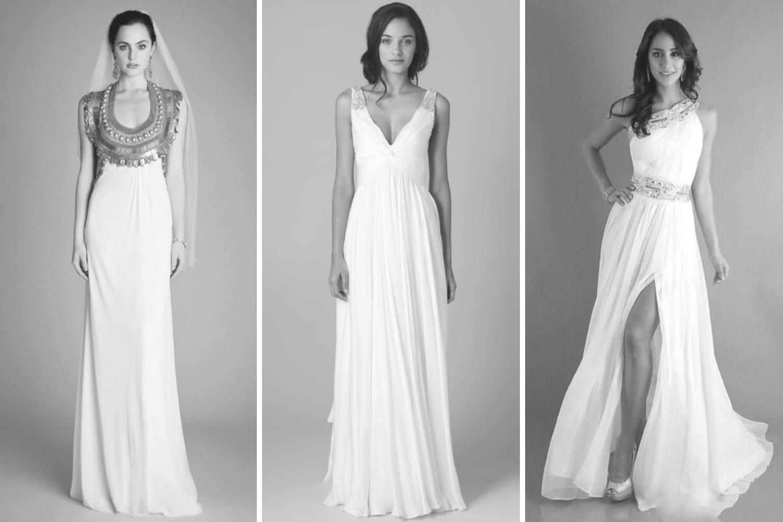 40538f219e6 Весільна сукня в грецькому стилі - Hot Wedding Blog