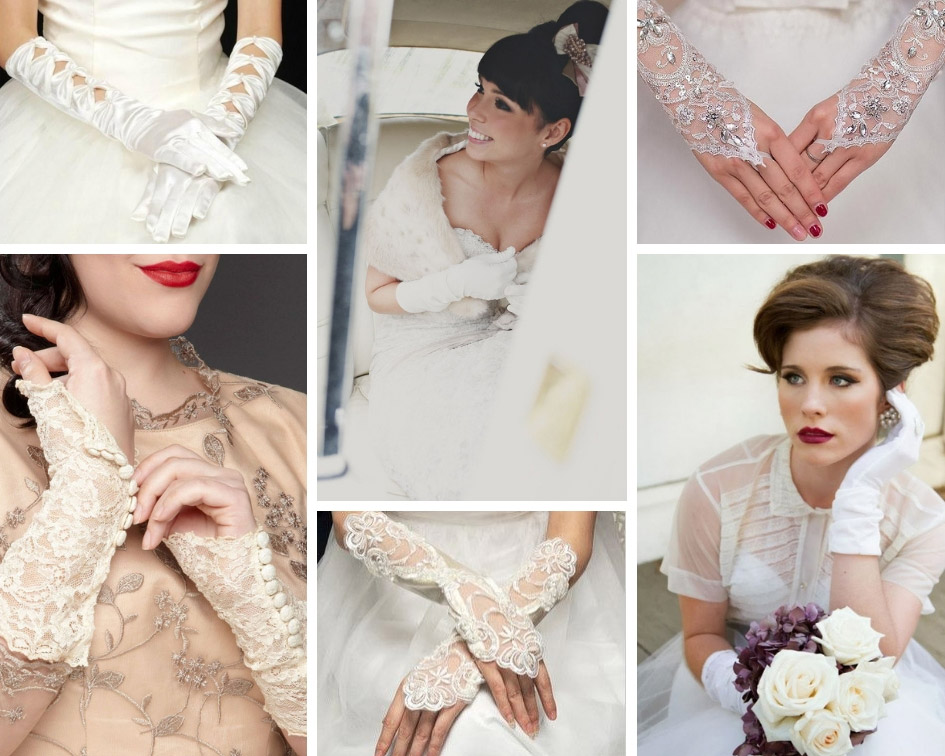 6905884c816 Рукавички на весілля - акцент в образі нареченої - Hot Wedding Blog