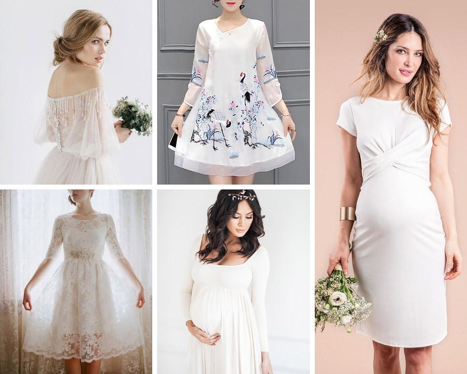 473e557fdb0 Варіанти сукні для вагітних на весілля - Hot Wedding