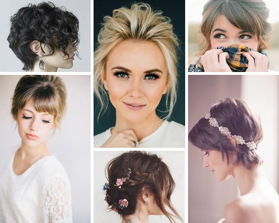 84a91fb5ed50bc Зачіски на коротке волосся для наречених - Hot Wedding