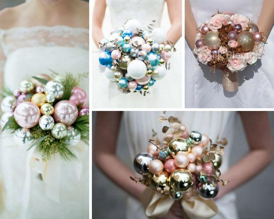 d7551beb7af543 Букети для наречених на зимове весілля - Hot Wedding Blog