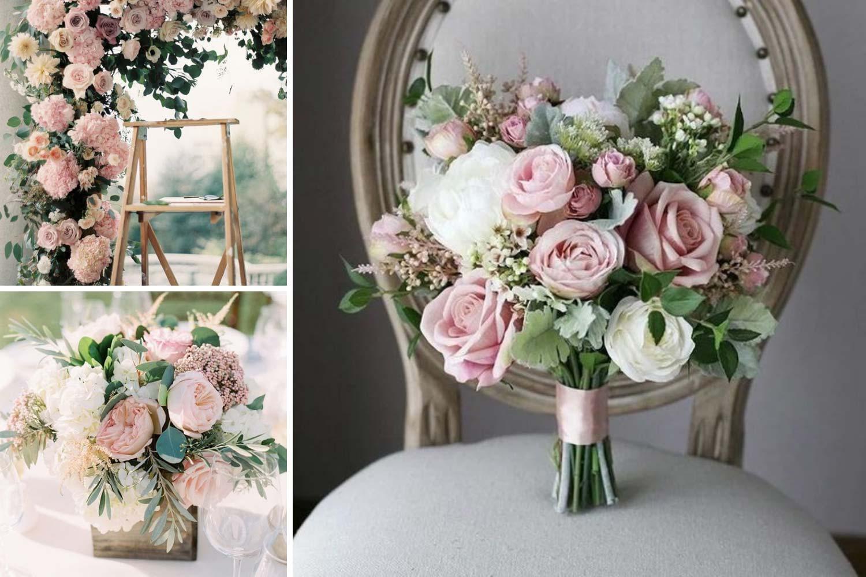 Флористика на годовщину 10 лет: розы фото