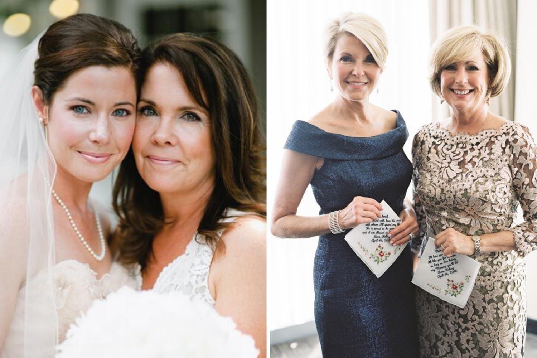 Необычное поздравление мамы невесты