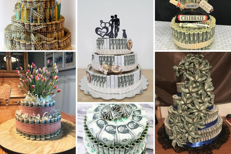 Поздравление для торта из денег на свадьбу