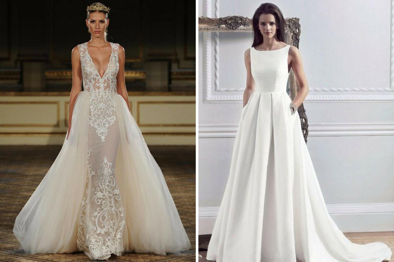 Весільні сукні 2018  тренди для образу нареченої 150513b2642dc