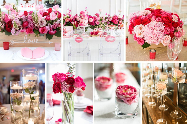 Свадьба 14 февраля: декор на День Святого Валентина