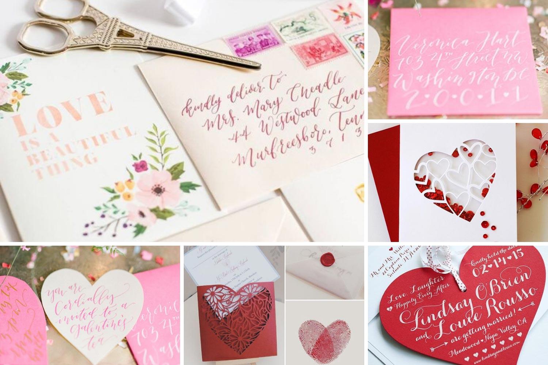Приглашения на свадьбу, открытки на День Валентина фото