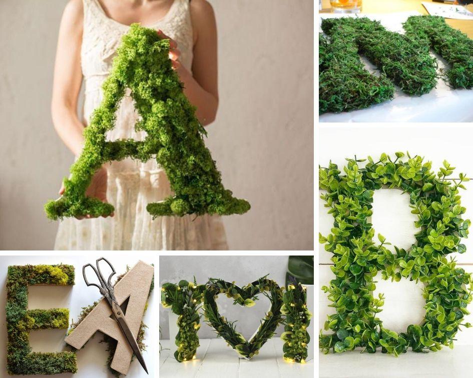 буквы для свадьбы идеи