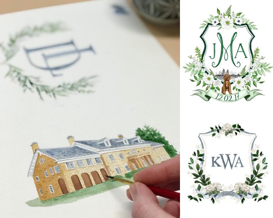 лого свадьбы идеи