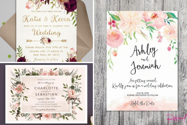 3cc41297c98a57 Весільні запрошення для весняного святкування - Hot Wedding