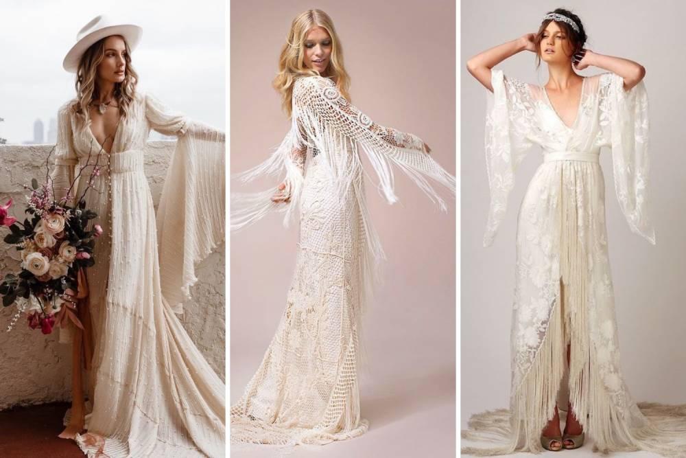 весільна сукня бохо